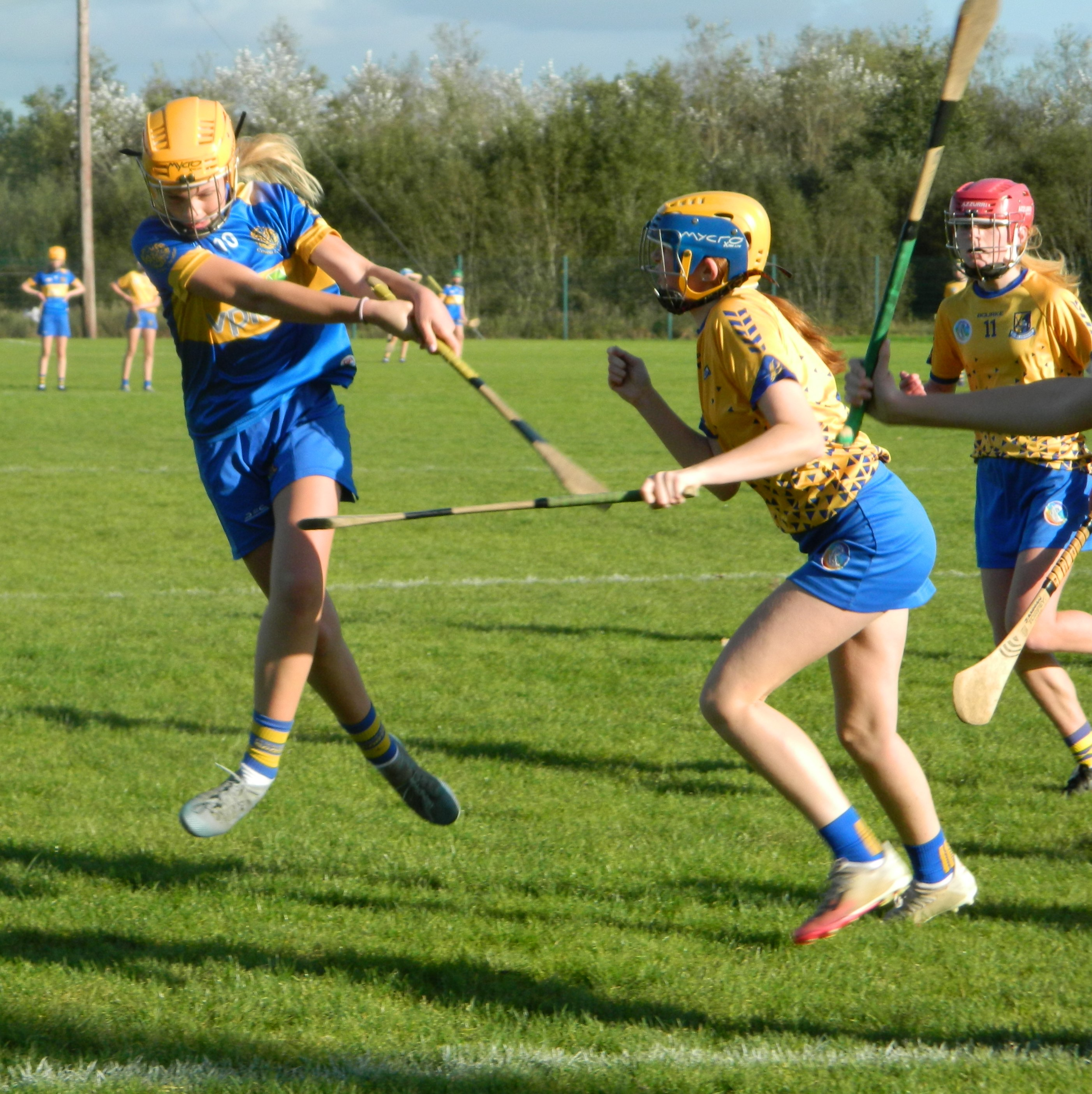 Action from the u13A Cup Final