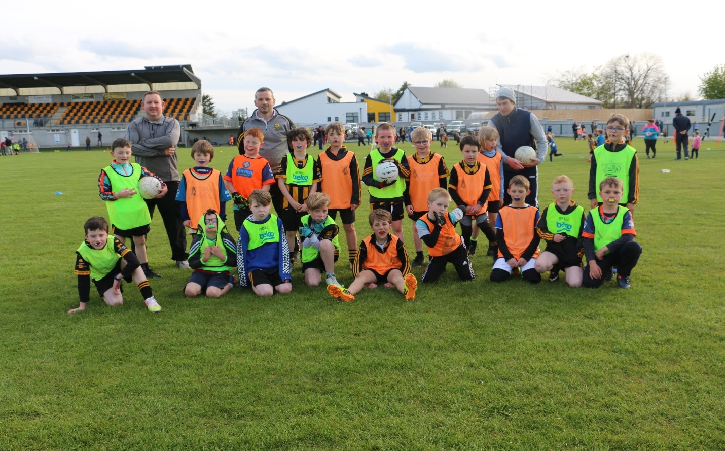 Members of The Downs GAA U9s Returning to Play May 7th 2021