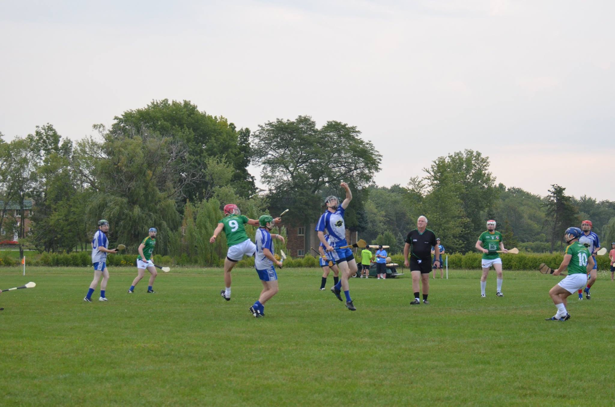 Colm refereeing