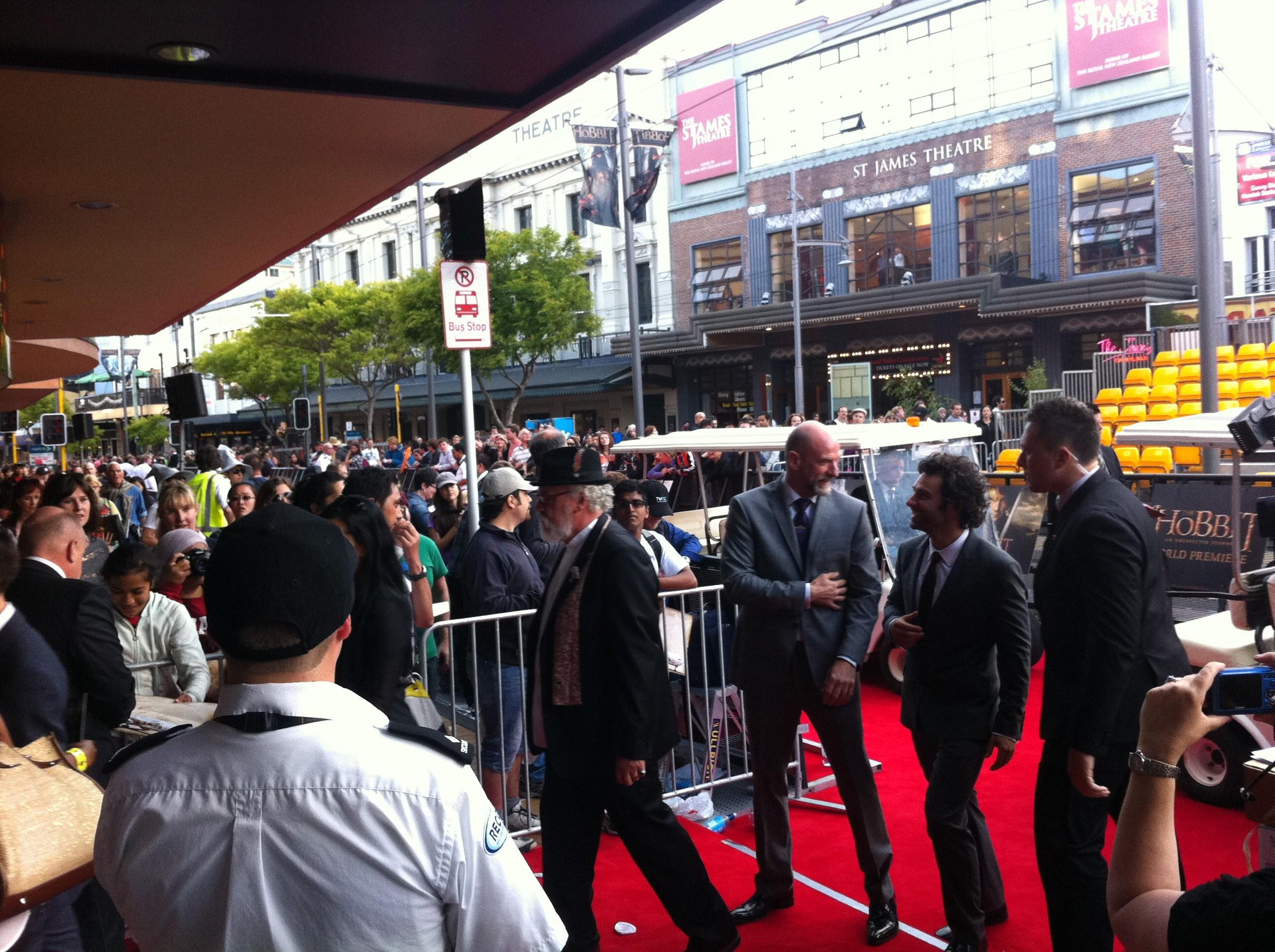 Hobbit: An Unexpected Journey World Premiere Wellington