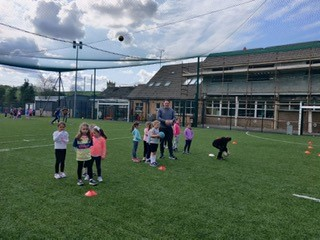 Nursery Programme Started back on Saturday last. Great to see all the kids out having fun. Training continues Saturday morning @ 10am on the Astro turf pitch @ St Daighs NS. New Players Welcome