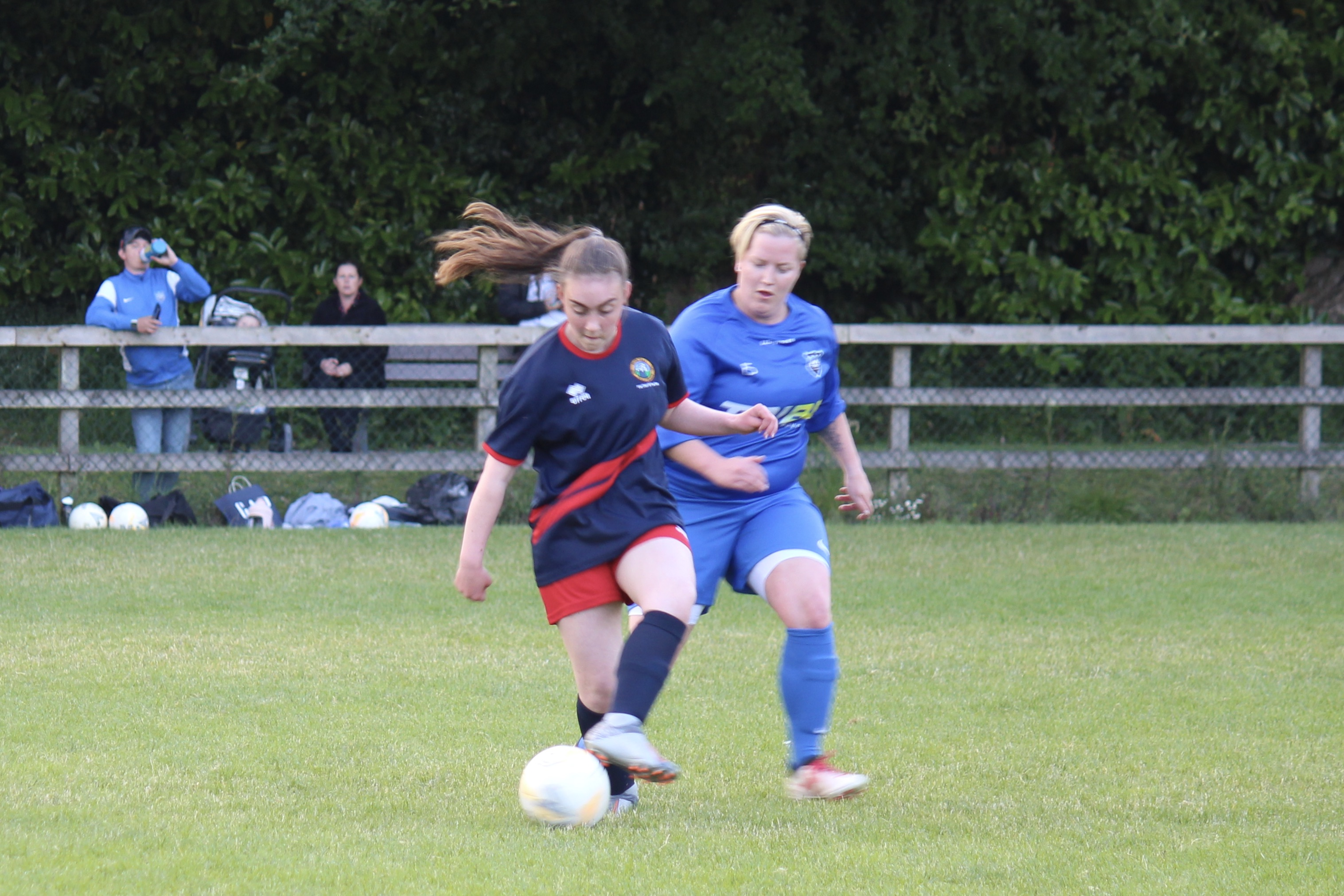 4 goal debut for 15 year old Allison McDonnell