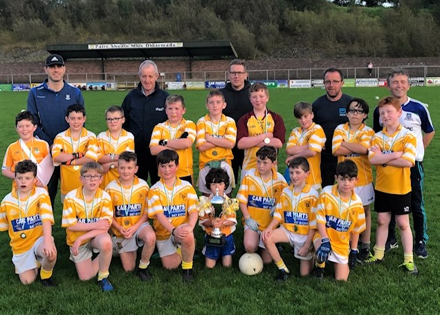 Well done to our U11's , winners of the Bosco Carroll Memorial Cup tonight