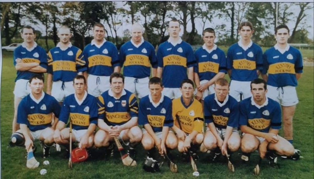 2001 North Junior 'B' Hurling Champions - Conor is pictured in the front row, second in from the left